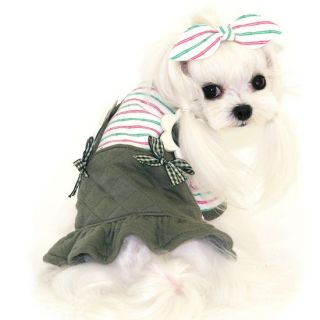 Dress Girl Dog Clothes Pet Apparel Suspender Puppyzzang