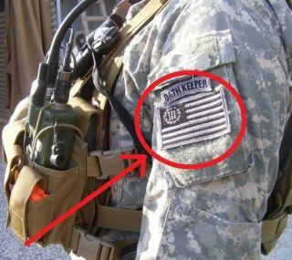 USMC Marines Force Recon Oda Sniper Velcro 2 Pcs Oath Keeper ACU