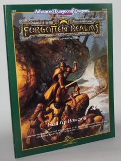 Ad D 2E Forgotten Realms Hall of Heroes Module FR7