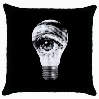 Fornasetti LIGHTBULB Throw Pillow Case