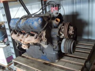 1969 Ford F600 391 FE Engine Complete Runs Great