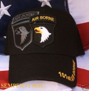 Hat US Army Cap Wowah Patch Fort Campbell USA Screaming Eagles