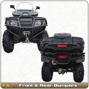 Honda Foreman 500 475 2012 Quad Front Rear ATV Bumper Brushguard
