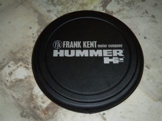 NEW FRANK KENT HUMMER H2 SPARE TIRE COVER 35 INCH