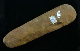 flint celt thin and well made classic pretty fort payne chert