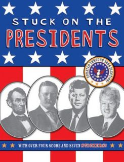 Stuck on The Presidents Washington Obama Sticker Book