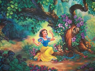 Snow Whites Magical Forest Signed RD 74 250 Dubois