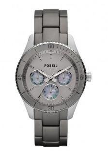 Fossil Stella Multifunction Grey Aluminum Womens Watch ES3040