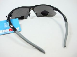 Foster Grant Iron Man Sport Black Sunglasses Finish Line EG081 Shat