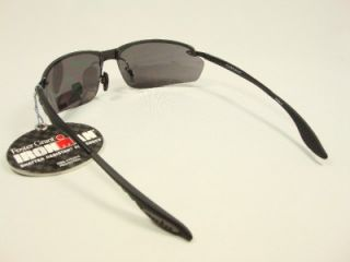 Foster Grant Sports Iron Man Guard Black Sunglasses New