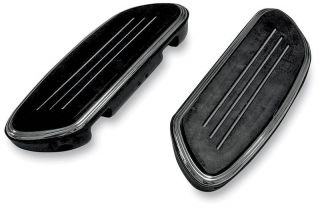 StreamLiner Black Passenger Floor Boards Harley Davidson Touring FLST