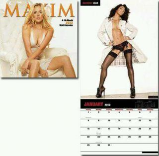 Brand New 2012 Maxim 16 Month Calendar Feat Arianny Celeste Others