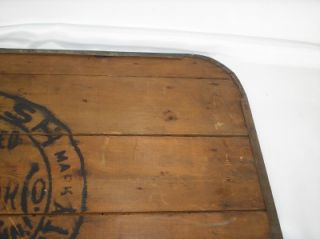 Antique Coal Burning Stove Board Ad Wabash Screen Door