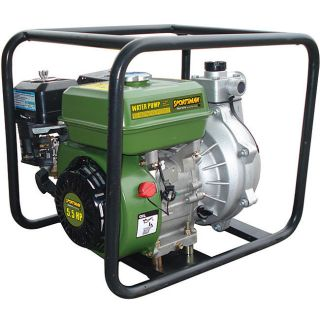 High Pressure Water Pump 65GPM 4 Stroke Flooding System