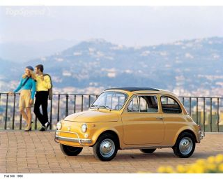 Fiat 500F Cinquecento Saloon Model Car Diecast Topolino