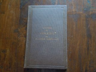 Florence Nightingale Notes on Nursing 1860 First Edition