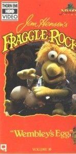 Fraggle Rock Jim Hensons Wembleys Egg 16 VHS