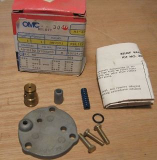 OMC Johnson Evinrude Relief Valve Kit 389001