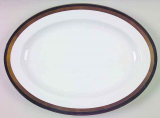 fitz floyd platine d or oval serving platter 128644