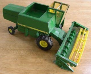 Ertl John Deere 6600 Combine Toy Farm Cows Horses Tractor Milk