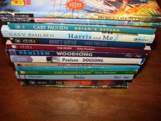 14 Gary Paulsen Chapter Book Lot Hatchet River Mr Tucket Woodsong S3A