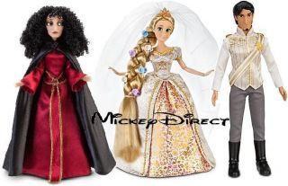 After Wedding Rapunzel Flynn Rider Mother Gothel Doll Barbie