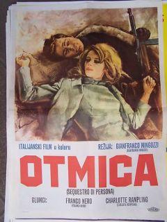 Sequestro Di Persona Franco Nero YUGO Movie Poster 68