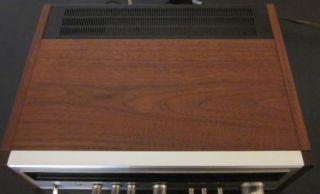 Vintage Pioneer TX 9100 Am FM Stereo Radio Tuner Receiver Wooden Case