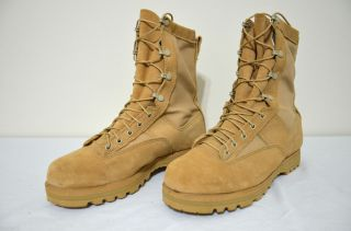 NEW BELLEVILLE MILITARY GORETEX DESERT COMBAT BOOT SIZE 11 REGULAR
