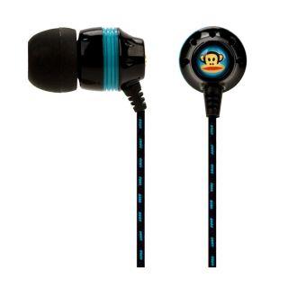 Ear Earbuds w Lifetime Warranty Paul Frank Black 878615011144