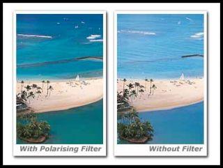HMC 62mm Circular Polarizing Filter Brand New 0024066016669