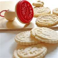 Shortbread Cookies Directions Basic and Brown Sugar Stamped or Cut
