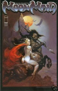 Frank Frazetta Moon Maid One Shot Cover A Jay Fotos Tim Vigil 2009