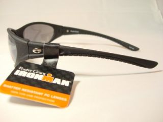 foster grant iron man black sunglasses minimizor new