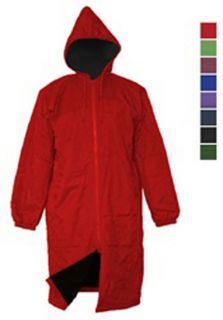 Waterproof Jacket Team Swim Parka Black Lining R J