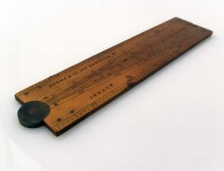 1849 Horne Co 6 Folding Sector Rule Drawing Instrument Ruler