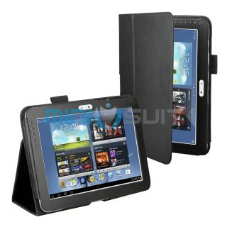 PU Leather Folio Stand Case Cover for Samsung Galaxy Note 10 1 Tablet