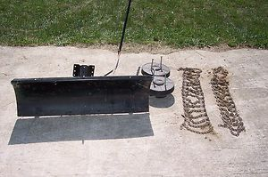 Blade Tire weights and Chains for riding lawn mower P u Fowlerville MI