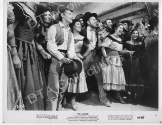 The Alamo 1960 Frankie Avalon B w 8x10 Movie Still FN