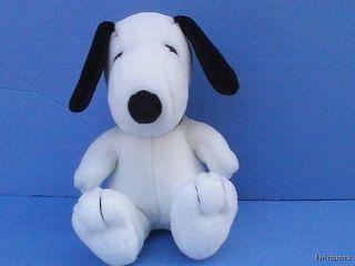 "8"" Snoopy Peanuts Dog Plush MetLife Advertising"