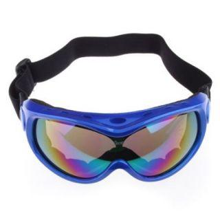 Basto Anti Fog Dual Lens Skiing Ski Snowboard Goggles Blue Frame
