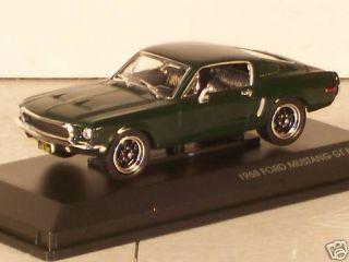1968 Ford Mustang GT Bullitt Diecast Car Die Cast Cars