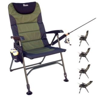 Earth Products Ultimate Outdoor Adjustable Fishing Chair with