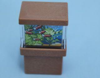 Playmobil Fish Tank Aquarium Modern House Extra