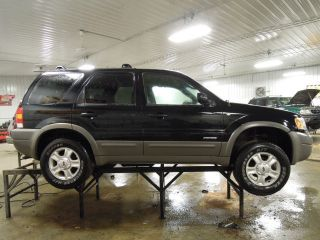 2001 Ford Escape Seat Belt Front Left LH FRT 4DR Gry XLT