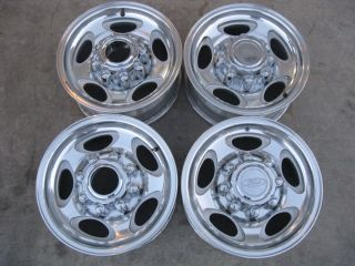 OEM Ford 16 Alloy wheels F 250 F 350 Excursion Superduty factory rims