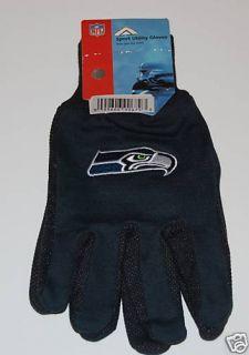 Seattle Seahawks NFL Football Sports Utility Gloves