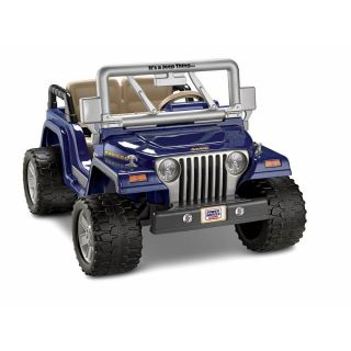 Power Wheels Fisher Price 12 Volt Jeep Wrangler Rubicon