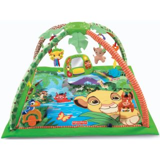 Fisher Price Disney Baby Simbas King Sized Musical Play Activity Gym