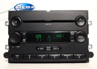 Ford F150 2007 2008 single disc MP3 CD player radio (two plugs) TESTED